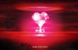 Обои о любви: Взрыв в форме сердца