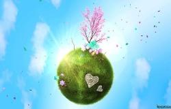 Обои о любви: Земля любви