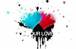 Обои о любви: Два сердца