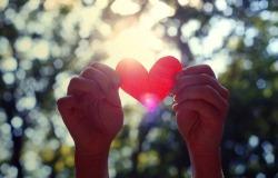 Обои о любви: Воздушные шарики