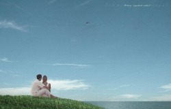 Обои о любви: Двое на краю света