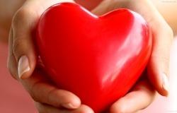 Обои о любви: Сердце в ладонях