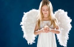Обои о любви: Ангелочек