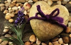 Обои о любви: Сердце из камня
