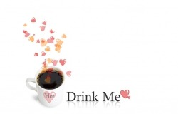 Обои о любви: Кофе для влюбленных