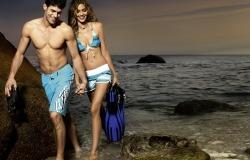 Обои о любви: Двое на пляже