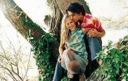 Обои о любви: Влюбленные на природе