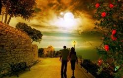 Обои о любви: Прогулка по набережной