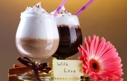 Обои о любви: Коктейль для влюбленных