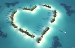 Обои о любви: Остров любви