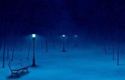 Обои о любви: Зимний парк