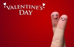 Обои о любви: Влюбленные пальчики: День святого Валентина