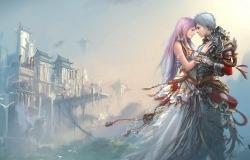 Обои о любви: Анимэ любовь