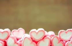Обои о любви: Сладкие сердечки