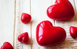 Обои о любви: День святого Валентина: сердечки