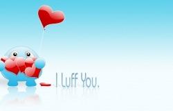 Обои о любви: Я тебя люблю