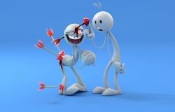 Обои о любви: Злая шутка любви