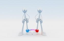 Обои о любви: Скованные одной цепью