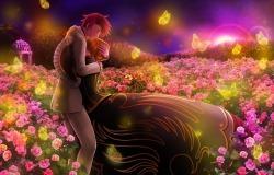 Обои о любви: Сказочная любовь