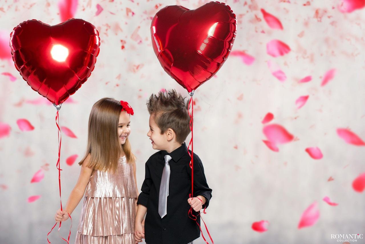День святого Валентина: Воздушные шарики