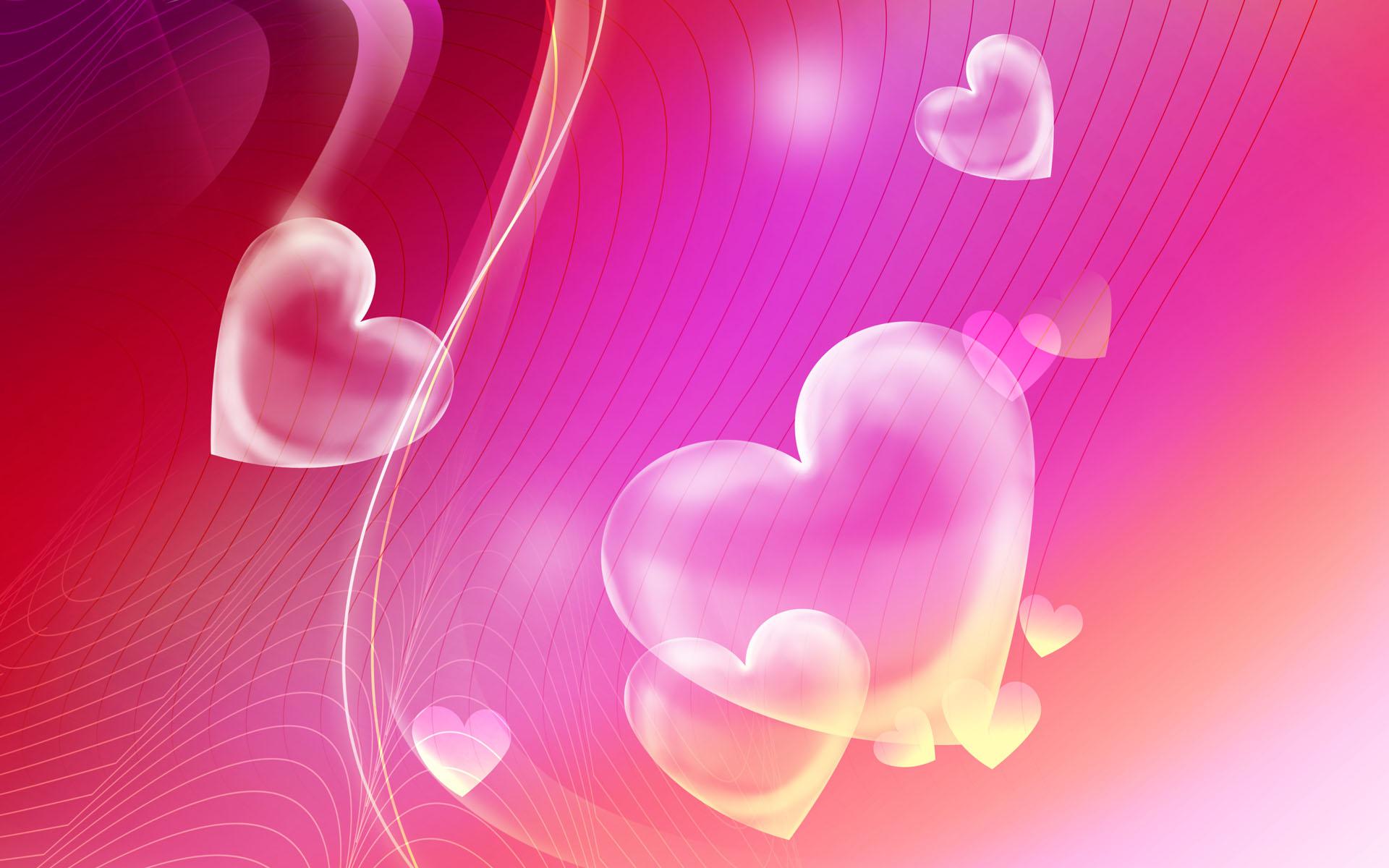 Картинки на телефон яркие сердечки
