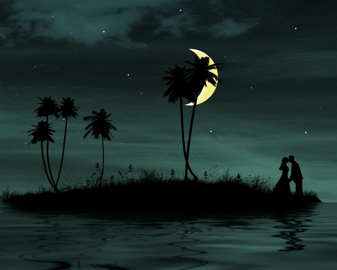 всех картинки ночь на острове любви для каждой них