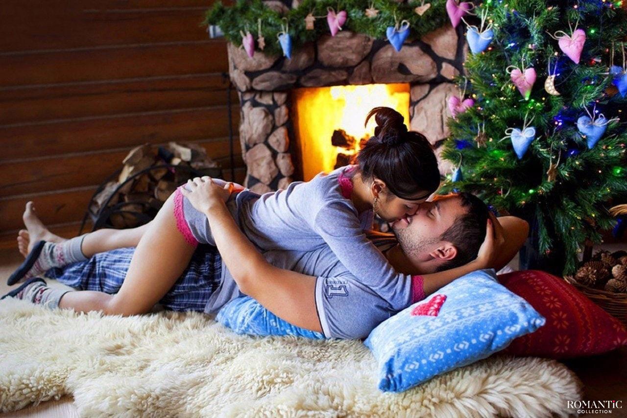 Эротический сюрприз в новогоднюю ночь