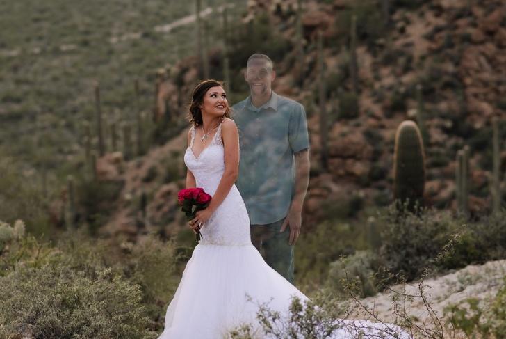 Девушка опубликовала фотографии с несостоявшейся свадьбы