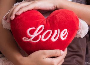День святого Валентина: Подушечка