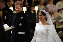 Принц Гарри и Меган Маркл обвенчались в Виндзорском замке