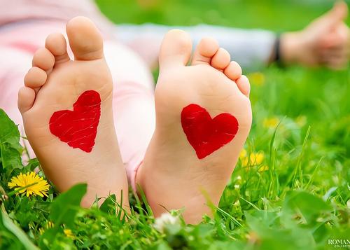 Сердце на ступнях