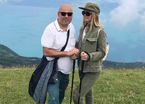 Валерия и Иосиф Пригожин покоряют горы во Франции