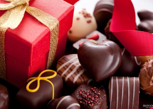 День святого Валентина: Валентин любит шоколад