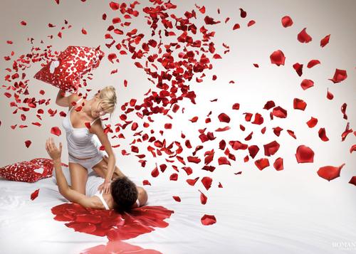 День святого Валентина: Рекламный щит
